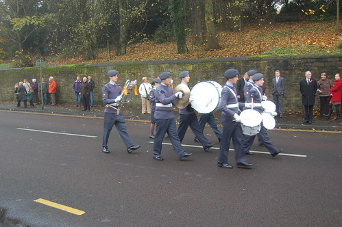 Remembrance Day Whickham Nov 11 54