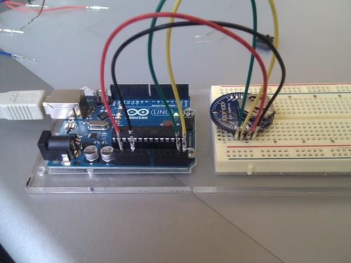 ChronoDot and Arduino