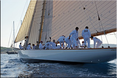 Ahoi! (mhobl) Tags: boat sailing yacht regatta sainttropez mannschaft tuiga