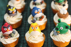 3D angry birds (tin.kuting) Tags: birds cake cupcakes angry customized makati giveaways
