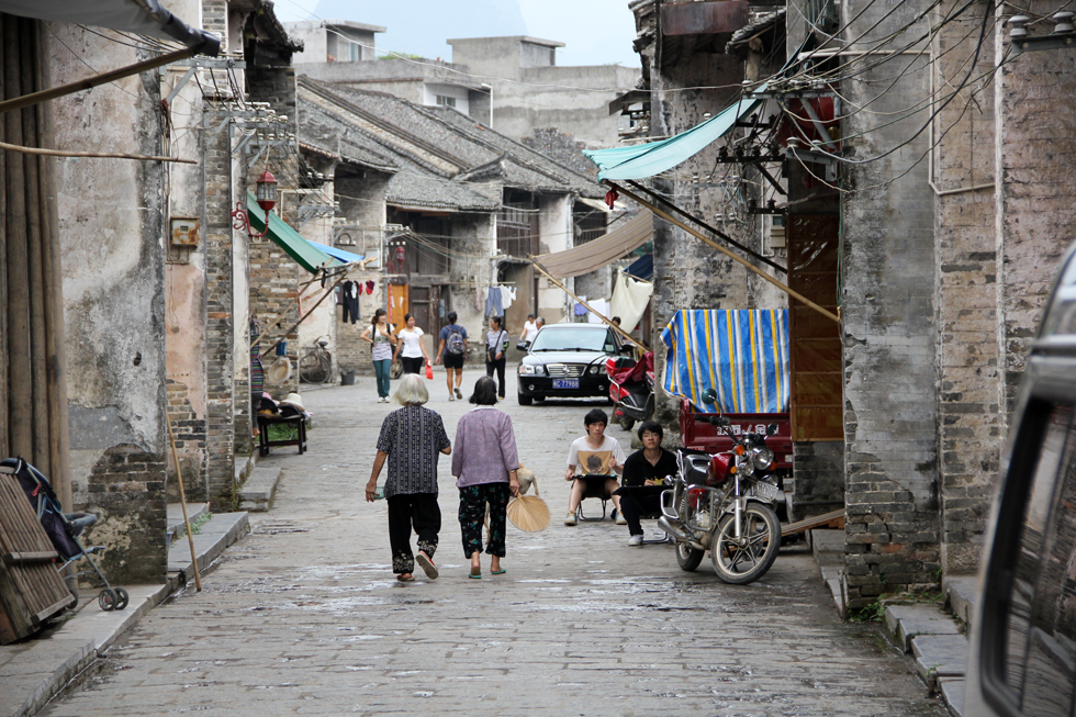 Streets of Xingping