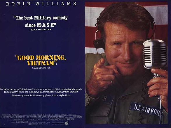 what movie is good morning vietnam quote from