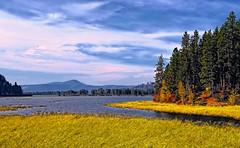 Benewah Lake (Philip Kuntz) Tags: autumn dusk idaho railroadtrestle stmaries parkline plummerpeak chatcolet stmariesriverrailroad benewahlake