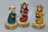 Miniature Knitting (3 Wise Men) (DJLDorset (Takin' a break for a while)) Tags: xmas wool mouse handmade crafts sony hobby nativity 3wisemen handknitted handknitting woolen 3kings alphaa700 miniaturecharacters davidlongshaw