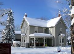 Norman Bethune house (dmixo6) Tags: trees winter snow nature beauty sly muskoka gravenhurst dugg dmixo6
