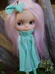 Bindi in one of Cagla's amazing dresses!!