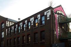 Mobstr / Sweet Toof (Alex Ellison) Tags: urban streetart rooftop graffiti teeth gums roller huh eastlondon sweettoof mobstr