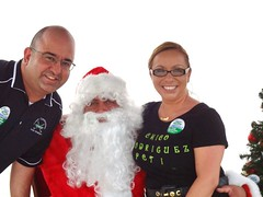 "Santa with Hugo Vasquez and Veronica Gonzalez-Vasquez • <a style=""font-size:0.8em;"" href=""http://www.flickr.com/photos/65105168@N06/6377190529/"" target=""_blank"">View on Flickr</a>"