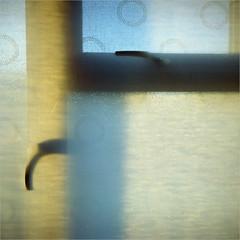 softly mondrianesque - gloucestershire (chirgy) Tags: blue shadow england texture window yellow handle blind gloucestershire frame cloth kodakportra800 mondrianesque pretentiousmoi kodak66 autaut 5f34 dyslexicmoi