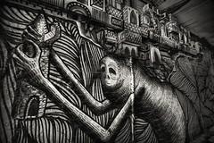 carry giant (james_drury) Tags: urban art graffiti artwork alley gallery exploring sheffield entrance brush graff aerosol ue kidacne phlegm thearchipelagoworks carrygiant