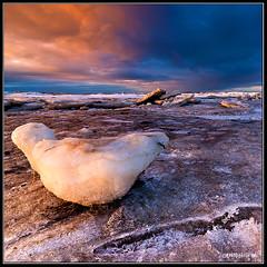 Poseidon Was Here (Friðþjófur M.) Tags: winter sky seascape ice colors clouds iceland autofocus wow1 wow2 wow3 wow4 wow5 canon50d flickraward tokina116 flickraward5 mygearandme mygearandmepremium flickrawardgallery friðþjófurm