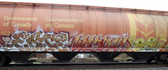 DSC_0654 v2 (collations) Tags: ontario graffiti more wisdom wheaties hoppers freights edje benching fr8s
