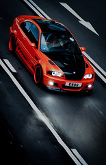 BMW M3 (Rupert Procter) Tags: auto hk orange car rain speed nikon ride awesome mobil kong coche bmw motor nikkor m3   typhoon kereta  car car hong rwp kong d80 spotting exotics chasing    juanchai juanchaihk