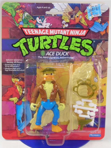 TEENAGE MUTANT NINJA TURTLES :: ACE DUCK  // ebay pic ii (( 1989 ))