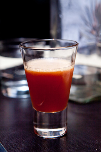 Bloody Orange-Chancaca Whiskey Sour
