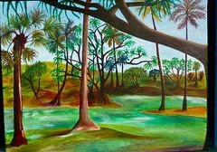 Richardson's Lagoon in Hilo (island friend) Tags: art painting myart acrylics paintingsofhawaii