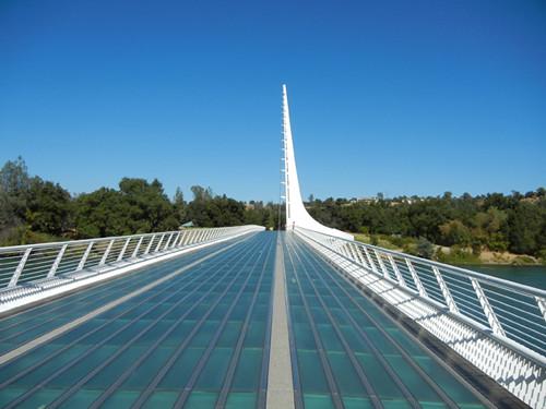 Sundial Bridge, Turtle Bay, Redding, California _ 5387