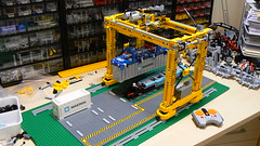 Lego Crane Train Train Lego Crane Container