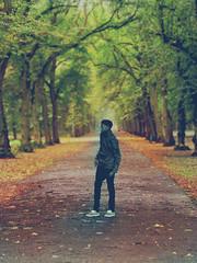 Alone. (Amanda Akokhia) Tags: trees boy man tree male pose big model alone legs cannon tones segun meitu