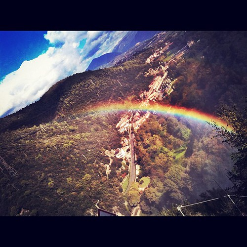 Dreaming over a #rainbow