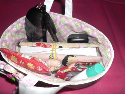 Organizador de mala / bolsa by Fuxiquices-da-isa