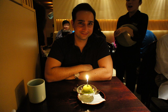 Ota Sushi - birthday candle