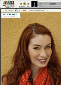 Felicia Day :: Queen of the Geeks :: Paste Magazine Interview by stevegarfield
