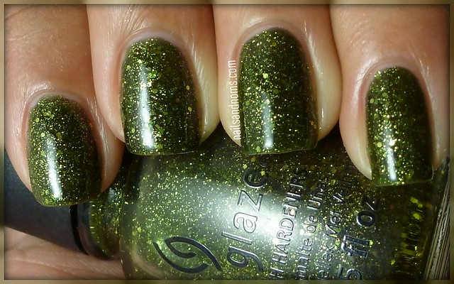 Day 4: Green - It's Alive by China Glaze