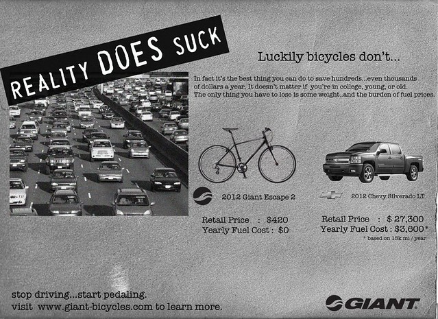 "Giant Bicycles, comeback to GM ""Stop pedaling"" campaign"