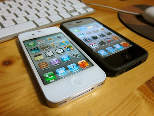 iPhone 4SとiPhone 4