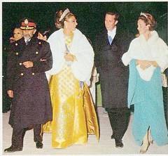 Persepolis 1971 Emperor Haile Selassie, King Baudouin, Queen Fabiola, Shahbanu (royalist_today) Tags: 1971 king belgium belgique jubilee belgi persia queen mohammed empire kaiser ethiopia reza baldwin royalty monarchy emperor farah boudewijn petropolis fabiola shah sovereign belgien knig diba haileselassie knigin balduin pahlavi koningin baudouin koning shahanshah aryamehr shahbanu shahdynasty