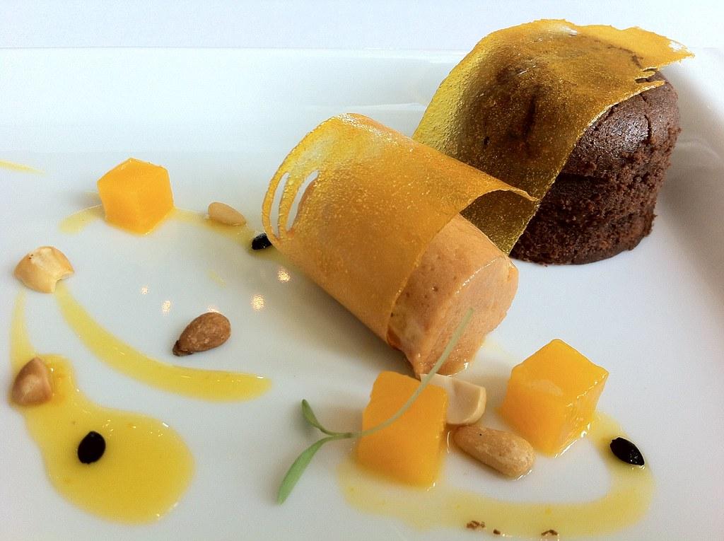 歐里薩巴莊園巧克力岩漿蛋糕