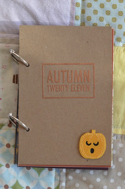 Autumn Twenty Eleven Book