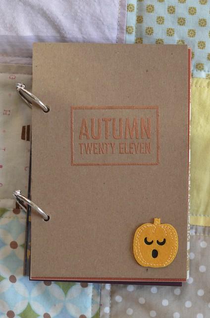 Autumn Twenty Eleven Book