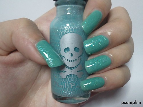 OPI Mermaid's Tears with Hot Topic Glow in the Dark