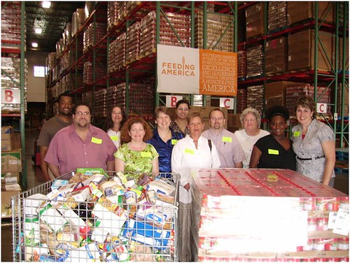 NASS employees in Tennessee visit their local Second Harvest Food Bank.