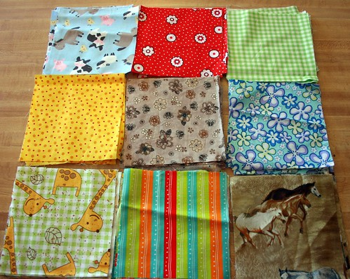 Sew-doku quilt block pieces
