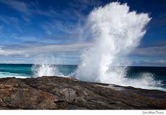 Waves (john white photos) Tags: ocean sea wild coast rocks waves australia spray coastal rough southaustralia eyrepeninsula