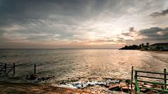 #850C4606- No Sunset day (Zoemies...) Tags: sunset beach clouds hanger balikpapan melawai zoemies