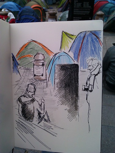 OccupyLSX tents
