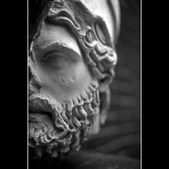 greek statue head (khrawlings) Tags: statue turkey beard greek head selcuk ephesus 2011 khrawlings