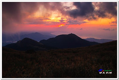 SDIM0245 ( or Jeff) Tags: sunset mountain nature water colors night clouds coast landscapes twilight place shot taiwan sigma explore  taipei   1020mm  discovery   scenes   afterglow foveon landscap  x3     glimmering 18200mm    datun  sd15