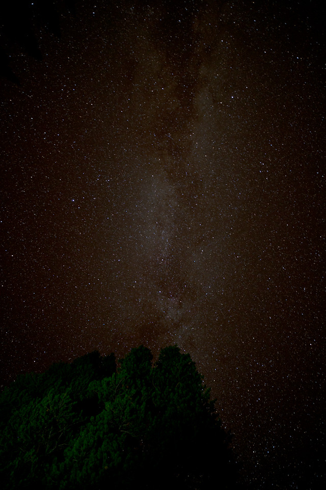 Milky Way from Tenaya Canyon