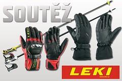 Vyhlášení soutěže o hole a rukavice LEKI