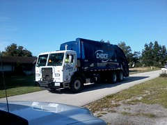 Choice Industries (West Florida Fire Photography) Tags: trash truck garbage rear collection rubbish end pete waste refuse loader load rl sanitation rel mcneilus rearloader rearload peterbilt320 choiceenvironmental