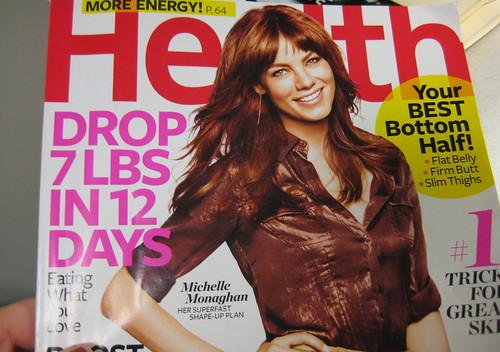Health magazine Michelle Monaghan