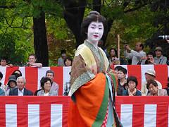 """Kyouka-san as """"Ono no Komachi"""" (arumukos) Tags: kyoto maiko geiko kimono gion teahouse yakata maikosan ochaya okiya hanamachi gionkobu ononokomachi geikosan kagai ozashiki gionkoubu satsukisan ochayagame ozashikiasobi kyoukasan aladyinwaiting jidaimatsuri2011"""