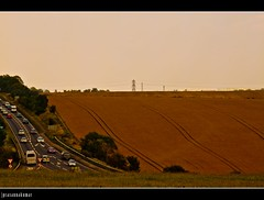 A Long Ride (PrK |photography) Tags: road canon landscape eos drive stonehenge 500d