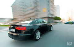 """Black Audi A6 • <a style=""""font-size:0.8em;"""" href=""""http://www.flickr.com/photos/54523206@N03/6288603226/"""" target=""""_blank"""">View on Flickr</a>"""
