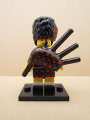 This Is Scotland (TheDarkblane) Tags: scotland lego minifig bagpipes custom eurobricks